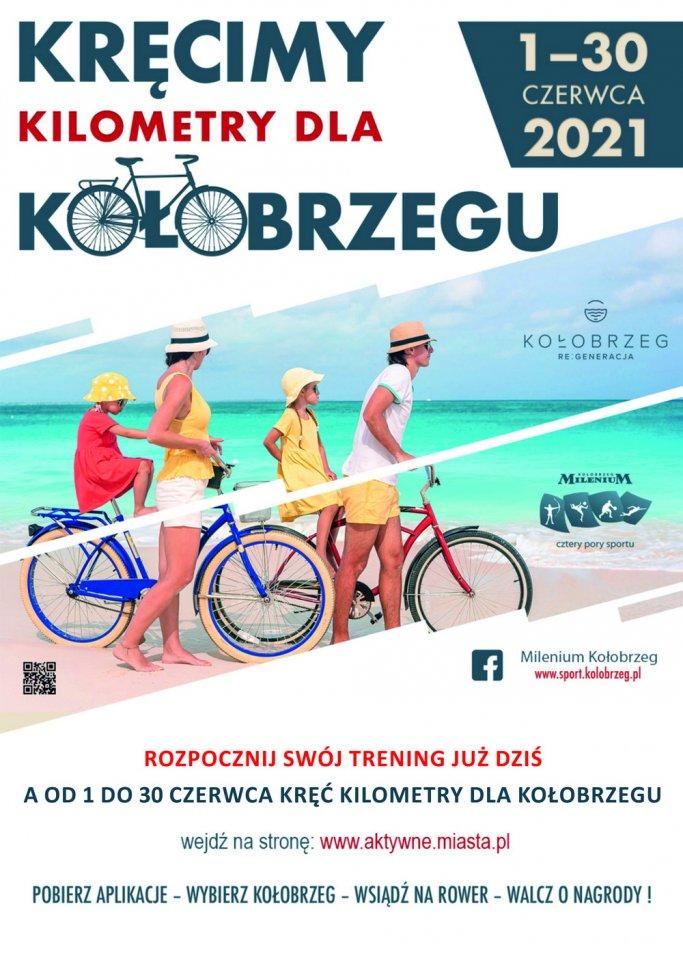 rower kolobrzeg - Kręć kilometry dla Kołobrzegu!