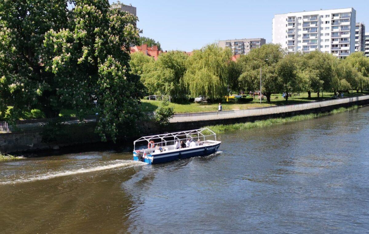 Próbny rejs tramwaju wodnego (WIDEO)