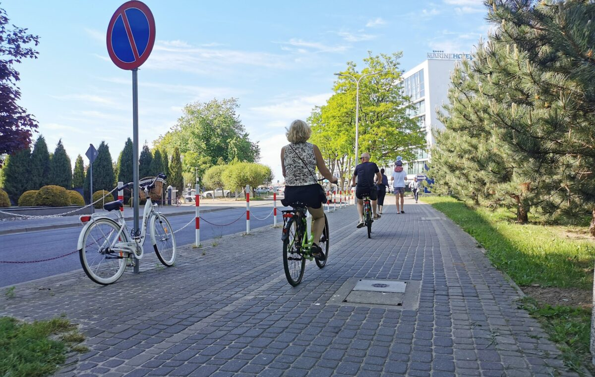 Droga ku morzu nie dla rowerzystów (temat od Czytelnika)
