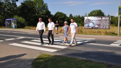 W Zieleniewie będzie bezpieczne przejście przy ul. Szczecińskiej. Apelowali o nie mieszkańcy