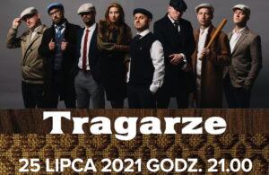 25 lipca, port jachtowy, godz. 21, koncert grupy Tragarze, wstęp wolny