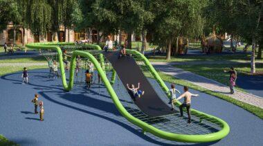 Jedyna oferta na budowę oryginalnego placu zabaw przy ul. Dubois przekracza budżet o milion złotych