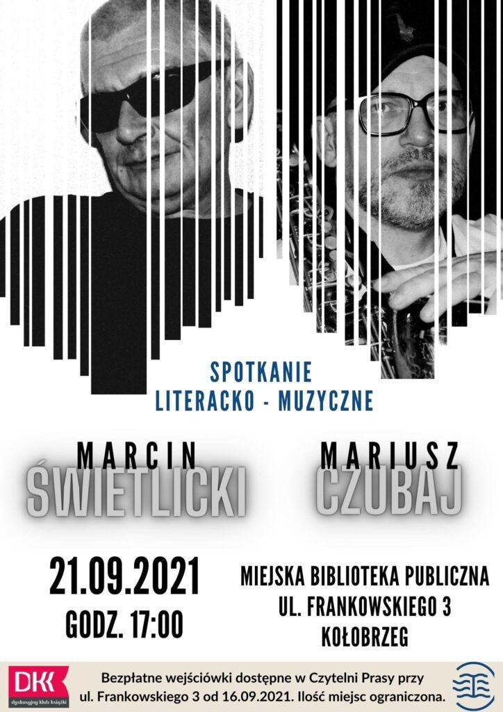 biblioteka 1 724x1024 - Spotkanie z Marcinem Świetlickim i Mariuszem Czubajem w miejskiej bibliotece. Wcześniej postaraj się o bezpłatną wejściówkę