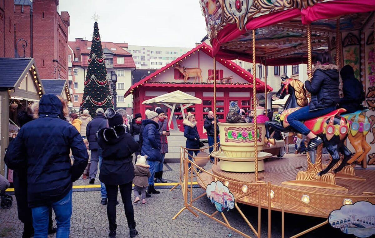 Miasto szuka dostawcy domków handlowych na  Jarmark Bożonarodzeniowy