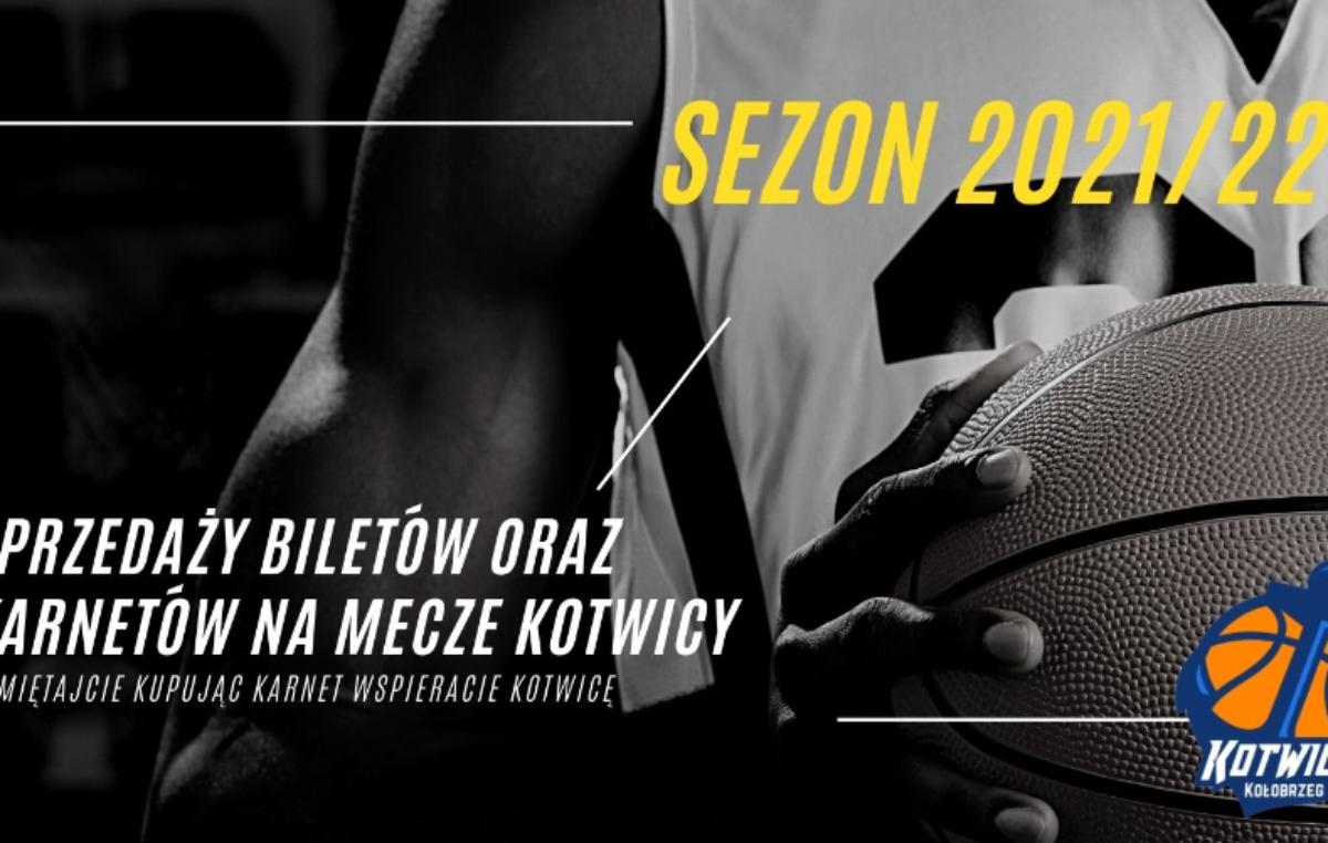 Koszykarska Kotwica Kołobrzeg: sprzedaż biletów oraz karnetów w sezonie 2021/22