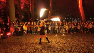 Noc Kolorów – Teatr Ognia
