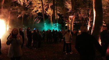 Noc Kolorów: park na kilka godzin stał się scenerią magicznego teatru światła i dźwięku (WIDEO)