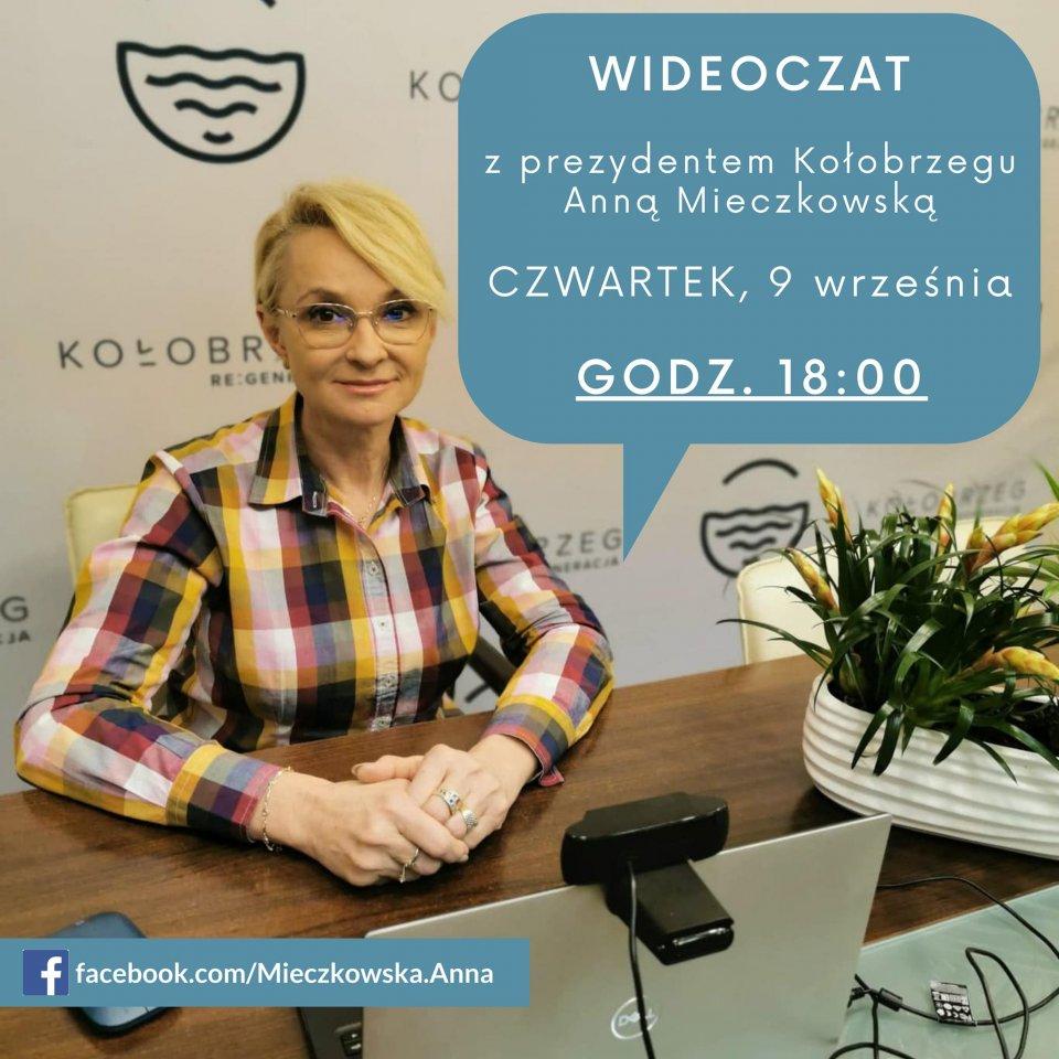 prezydent kolobrzegu - Jutro (9.09) wideoczat z prezydent Kołobrzegu. Każdy może dołączyć i zadać pytanie Annie Mieczkowskiej
