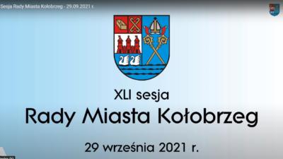 NA ŻYWO:  XLI sesja Rady Miasta Kołobrzeg (ZAKOŃCZONA, ZAPIS WIDEO)