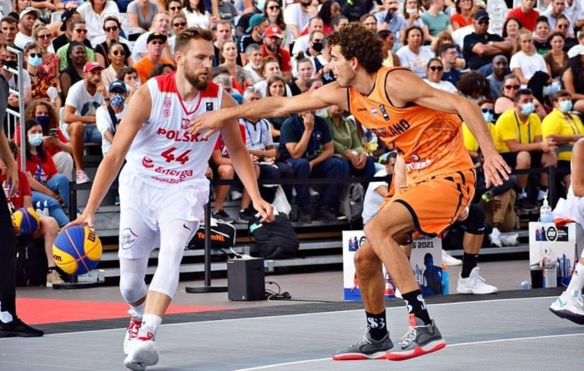 Wychowanek Kotwicy Kołobrzeg z brązowym medalem Mistrzostw Europy w koszykówce 3×3