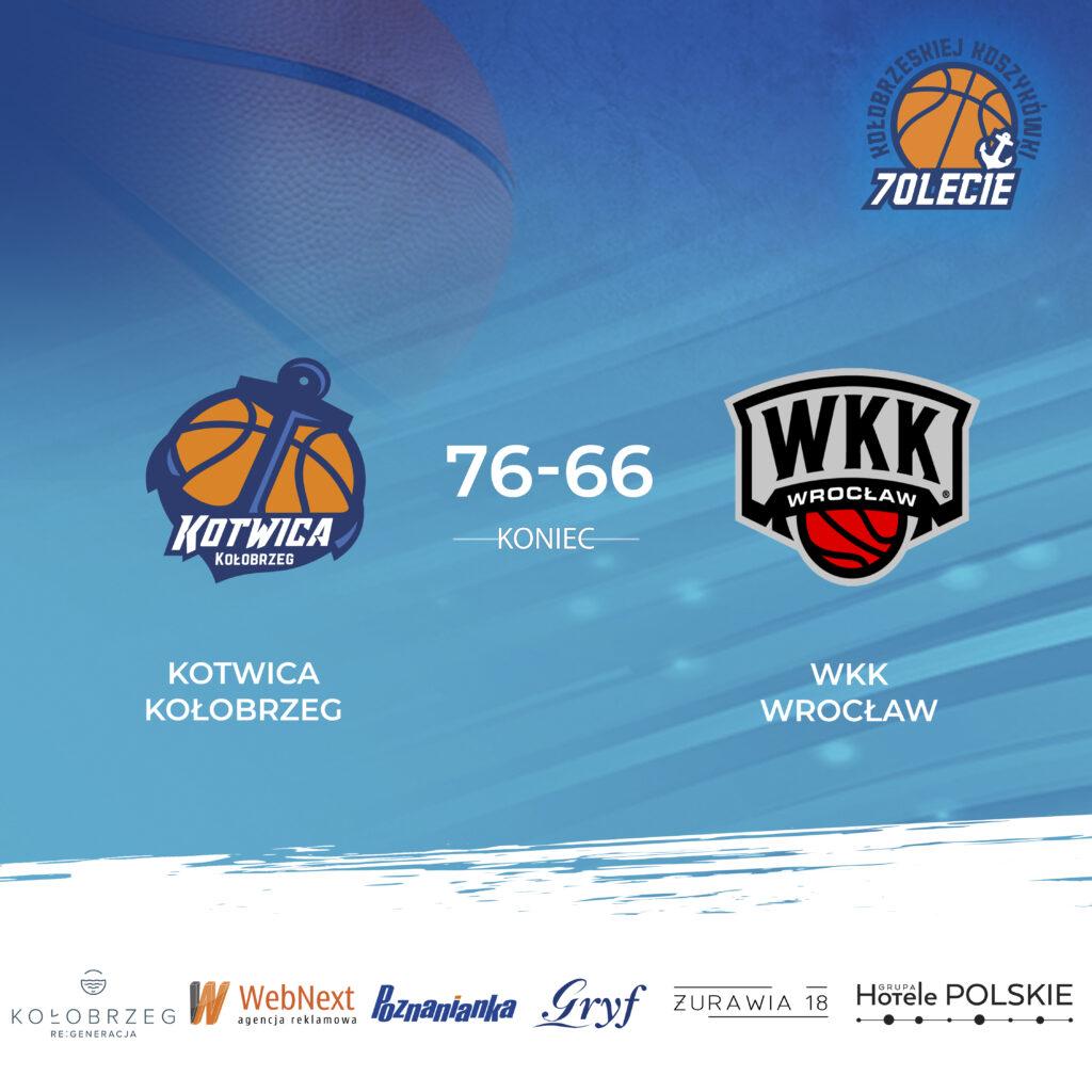 kotwica wrocilaw2 1024x1024 - Wygrana Kotwicy Kołobrzeg w meczu z WKK Wrocław w hali Milenium