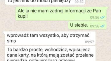 Korzystasz z OLX i WhatsApp? Uważaj na podszywających się pod nie oszustów