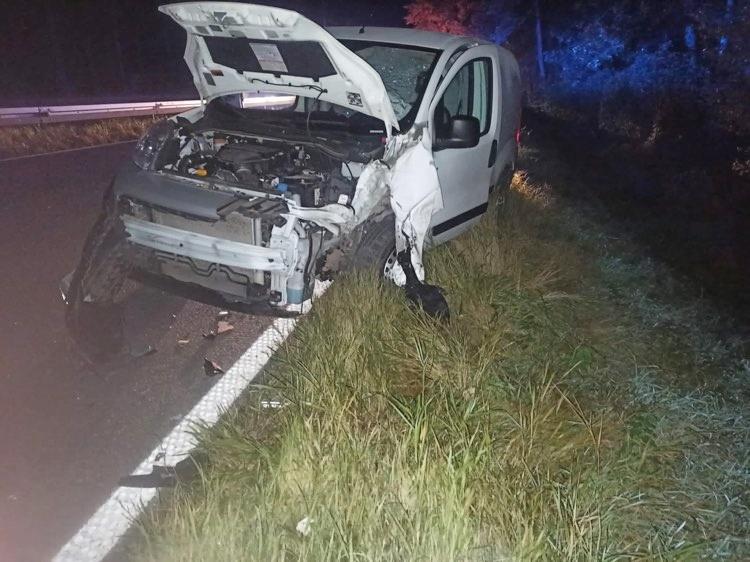 wyp3 1 - Sprawca wypadku na wysokości Podczela był pod wpływem alkoholu