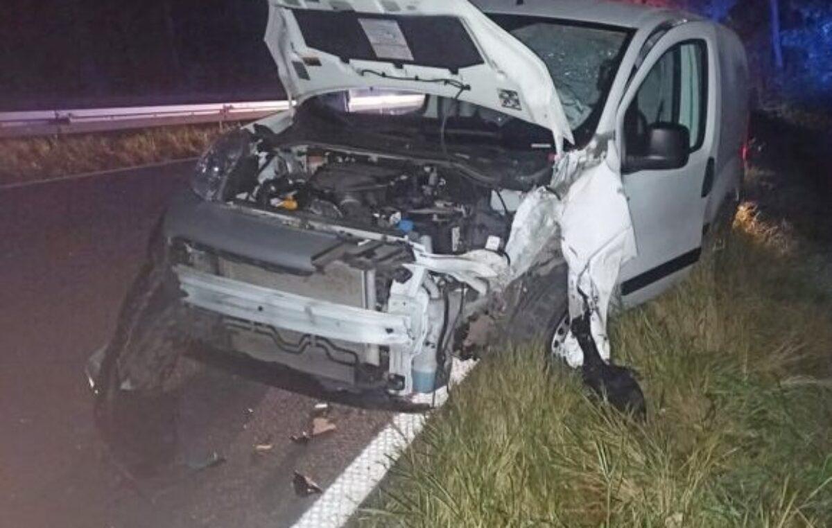 Sprawca wypadku na wysokości Podczela był pod wpływem alkoholu