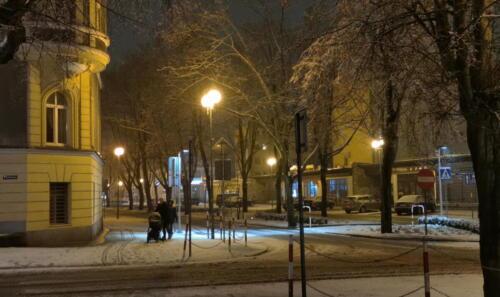 15 (1) (1) (1) (1) (1) (1) (1) - Dziś wieczorem sypnęło śniegiem... (GALERIA ZDJĘĆ)