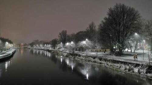 1 (1) (1) (1) (1) (1) (1) (1) - Dziś wieczorem sypnęło śniegiem... (GALERIA ZDJĘĆ)