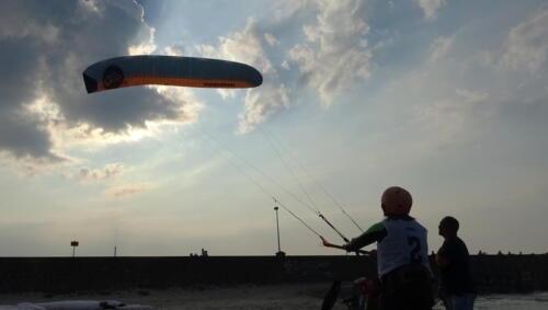 47a (1) - Kite Challenge w Kołobrzegu po raz drugi. Latawce kitesurfingowe wracają do kurortu