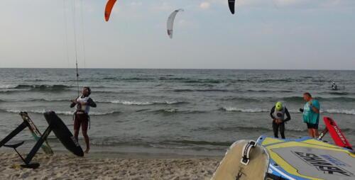 57 (1) - Kite Challenge w Kołobrzegu po raz drugi. Latawce kitesurfingowe wracają do kurortu