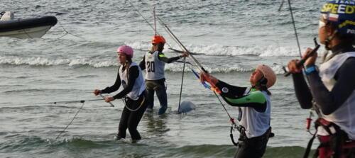 58a (1) - Kite Challenge w Kołobrzegu po raz drugi. Latawce kitesurfingowe wracają do kurortu