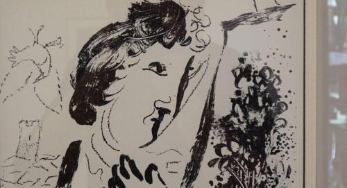 galeria kolobrzeg - Można już zwiedzać wystawę prac Marca Chagalla (zdjęcia i wideo z wernisażu)