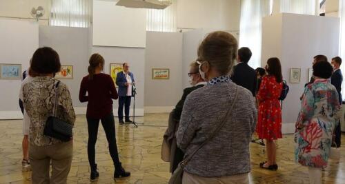 galeria kolobrzeg2 - Można już zwiedzać wystawę prac Marca Chagalla (zdjęcia i wideo z wernisażu)