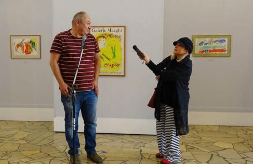 galeria kolobrzeg6 - Można już zwiedzać wystawę prac Marca Chagalla (zdjęcia i wideo z wernisażu)