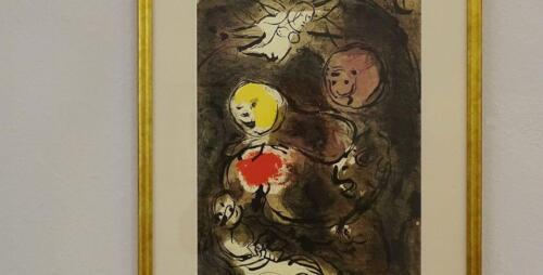 galeria kolobrzeg9 - Można już zwiedzać wystawę prac Marca Chagalla (zdjęcia i wideo z wernisażu)