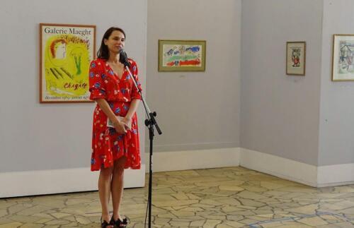galeria kolobrzeg 3 - Można już zwiedzać wystawę prac Marca Chagalla (zdjęcia i wideo z wernisażu)