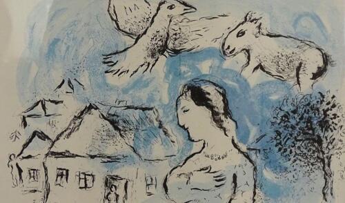 galeria kolobrzeg 9 - Można już zwiedzać wystawę prac Marca Chagalla (zdjęcia i wideo z wernisażu)