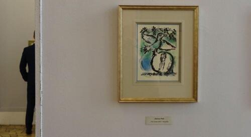 galeria w kolobrzegu - Można już zwiedzać wystawę prac Marca Chagalla (zdjęcia i wideo z wernisażu)