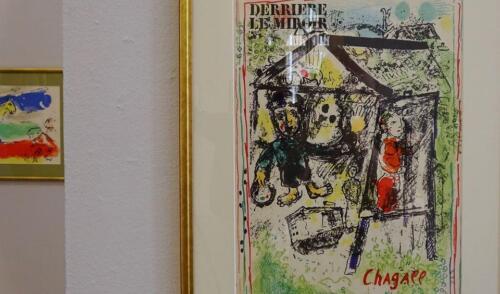 galeria w kolobrzegu 1 - Można już zwiedzać wystawę prac Marca Chagalla (zdjęcia i wideo z wernisażu)