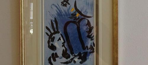 galeria w kolobrzegu 7 - Można już zwiedzać wystawę prac Marca Chagalla (zdjęcia i wideo z wernisażu)
