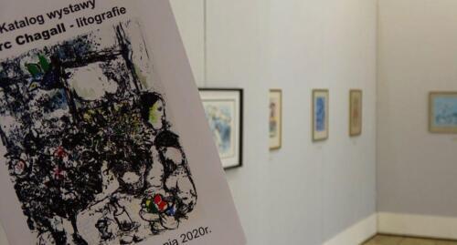 galeria w kolobrzegu 8 - Można już zwiedzać wystawę prac Marca Chagalla (zdjęcia i wideo z wernisażu)