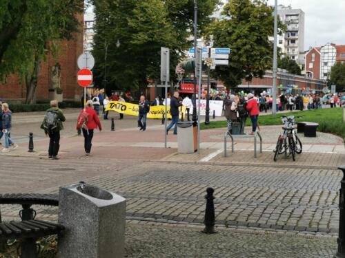 marsz7 - W niedzielę ulicami Kołobrzegu przeszedł Marsz dla Życia i Rodzin (ZDJĘCIA, WIDEO)